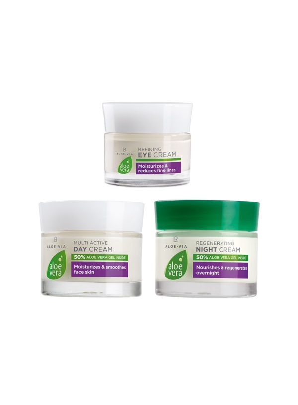 Aloe Vera Комплект за грижа за лицето