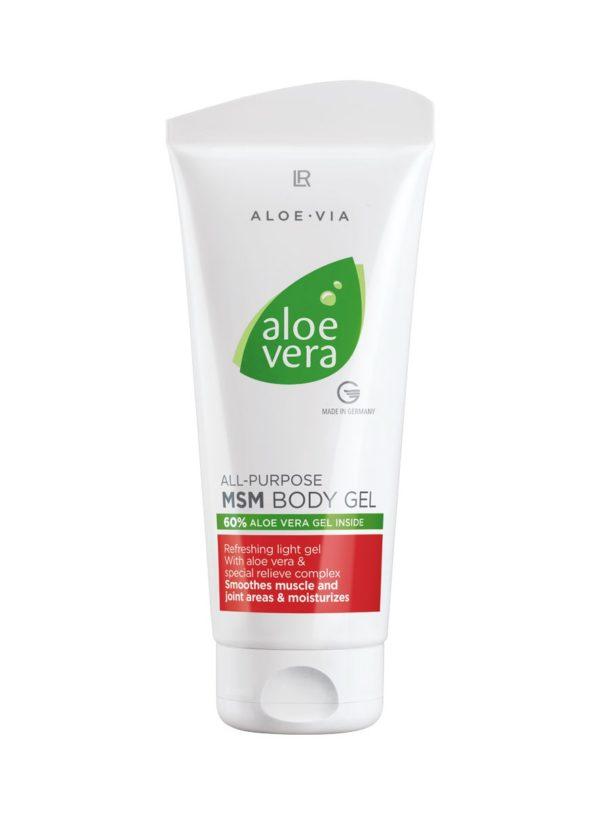 Aloe Vera Мултифункционален MSM гел за тяло