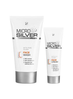 MICROSILVER PLUS Комплект за лице